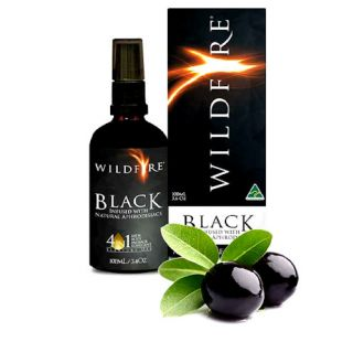 Wildfire All Over Pleasure Oil - Black