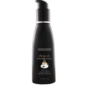 Wicked Mocha Java Flavoured Lubricant
