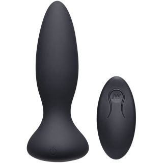 A-Play Vibe Adventurous Rechargeable Silicone Anal Plug with Remote