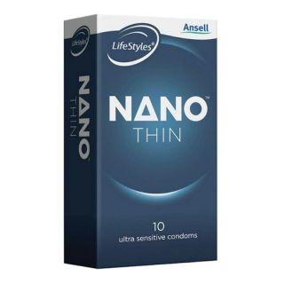 Ansell Liftestyles Nano Thin Condoms 10 Pack