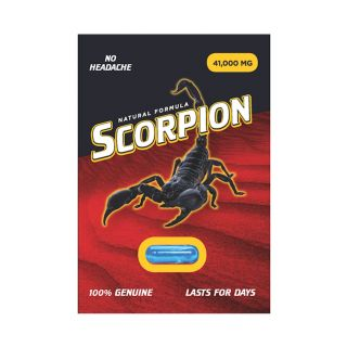 Scorpion Male Enhancement and Performance Pill