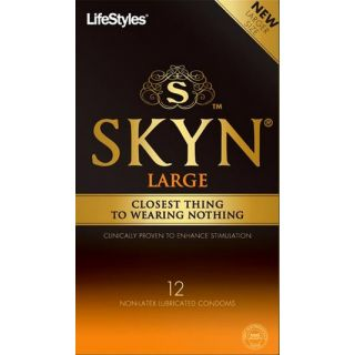 Ansell Skyn Large Non-Latex Condoms