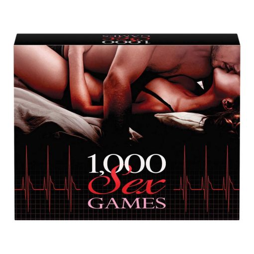 1000 Sex Games - Adult Board Game