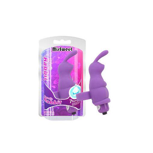 Sweetie Rabbit Bullet Finger Vibe Purple