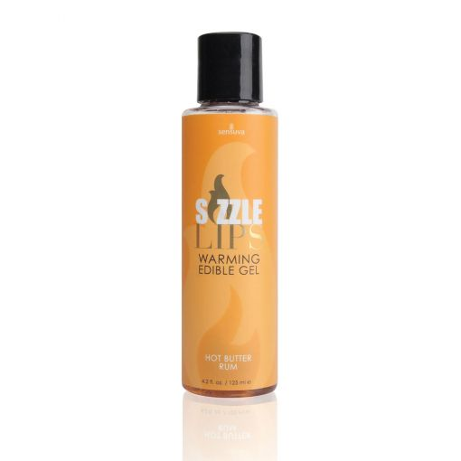 Sizzle Lips Warming Massage Oil - Hot Butter Rum