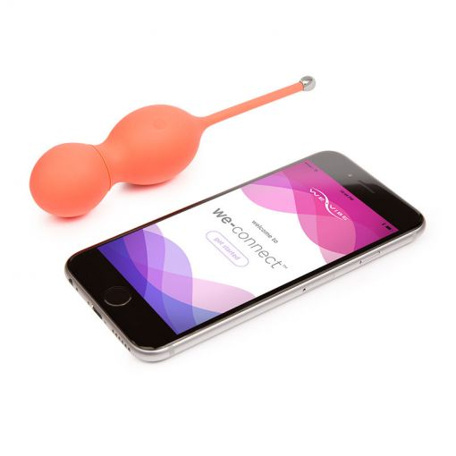 Bloom Weighted Vibrating Kegel Balls by We-Vibe