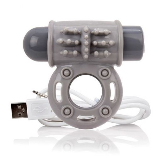 Charged OWOW Vooom Cock Ring Grey