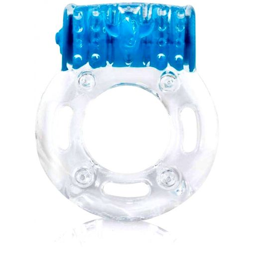 Colour Pop Screaming O Plus Penis Ring-Blue