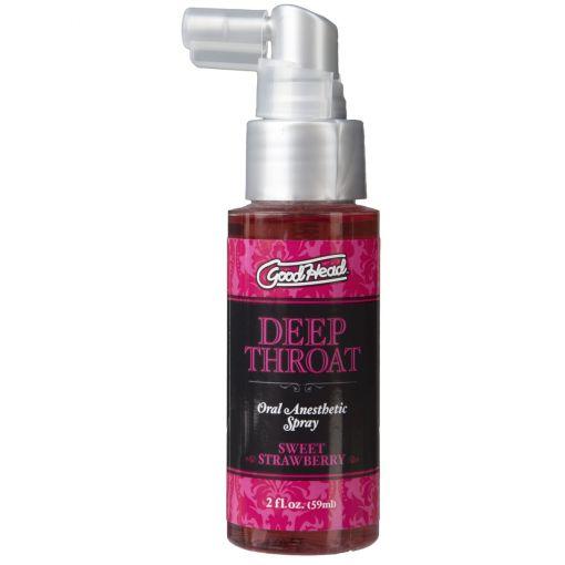 Deep Throat Spray Sweet Strawberry