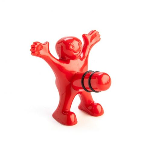 Happy Man Bottle Stopper Adult Novelty