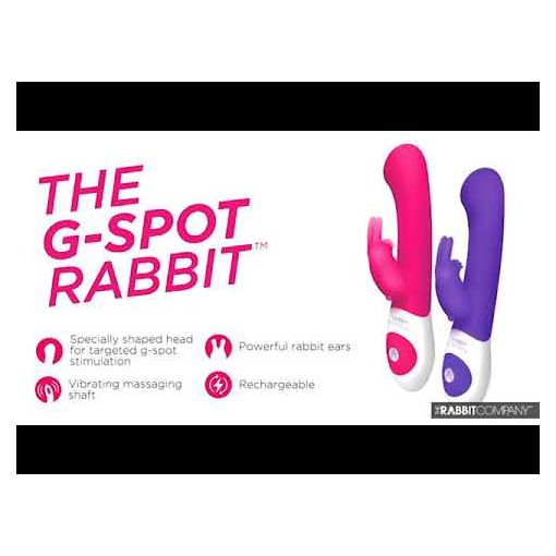 The Rabbit Company Come Hither Rabbit Pink