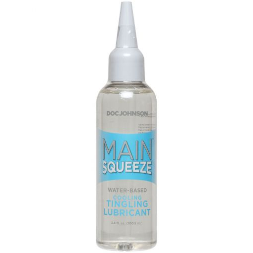 Main Squeeze Cooling Tingling Water Based Lubricant