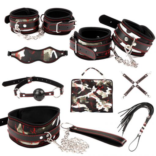 MUQU 10 Piece Bag Bondage Kit