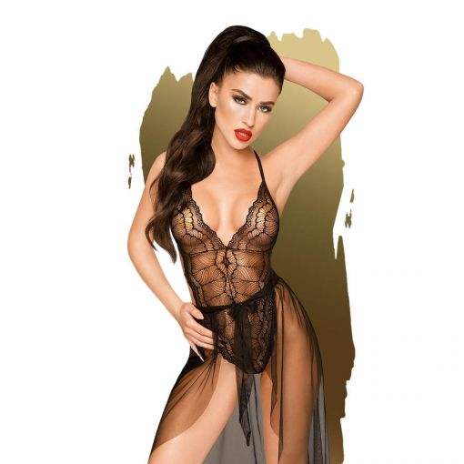 Penthouse Best Foreplay Lingerie Black 12/14