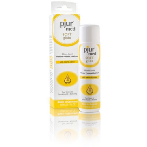 Pjur Med Soft Glide Intimate Silicone Lubricant with Natural Jojoba
