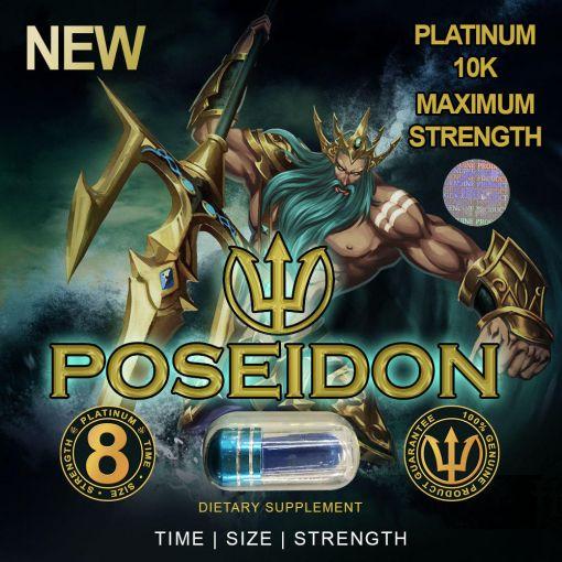 Poseidon 10K Male Enhancement Supplement Pill