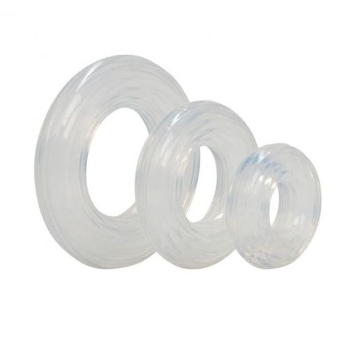 Premium Silicone Cock Ring Set