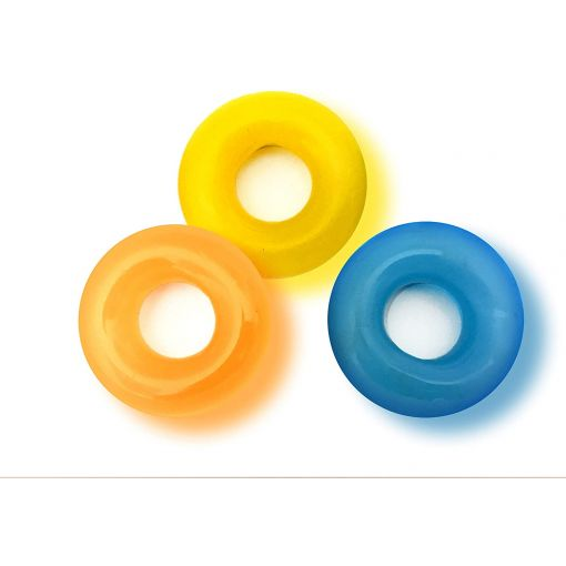 Rascal The D-Ring Glow Cock Rings 3 Pack