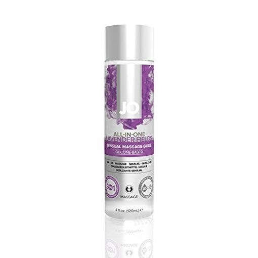 System Jo All In One Sensual Massage Glide - Lavender Fields