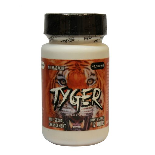 Tyger Male Enhancement Pills 12pk Bottle