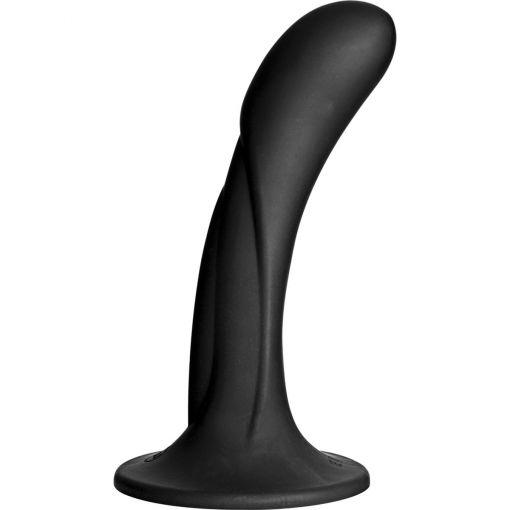 Vac U Lock G-Spot Silicone Dong Black